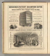 Herring's Patent Champion Safes, Philadelphia. Printed by Henry B. Ashmead, George Street above Eleventh, Philadelphia.