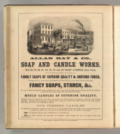 Allan Hay & Co., New York (soaps, candles). Printed by Henry B. Ashmead, George Street above Eleventh, Philadelphia.