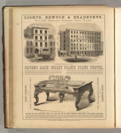 Lighte, Newton & Bradburys, New Yoork (piano fortes). Printed by Henry B. Ashmead, George Street above Eleventh, Philadelphia.