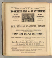 Cushings & Bailey, Baltimore (booksellers, stationers). Printed by Henry B. Ashmead, George Street above Eleventh, Philadelphia.