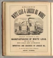 Atlantic White Lead & Linseed Oil Works. Robert Colgate & Co. New York. Printed by Henry B. Ashmead, George Street above Eleventh, Philadelphia.