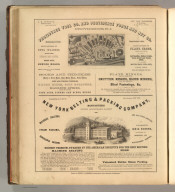 Providence Tool Co. and Providence Forge and Nut Co., Providence, R.I. (metal hardware, tools, and fasteners). New York Belting & Packing Company, New York (machine belting, hose, packing). Printed by Henry B. Ashmead, George Street above Eleventh, Philadelphia.