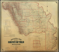 Official Map of the County of Yolo, California, Showing Roads, Railroads - Voting Precincts, School and Road Districts, Government Surveys and Private Ownership. Compiled and Pulished by P.N. Ashley, County Surveyor, Yolo County, 1900. Copyrighted by P.N. Ashley, 1900.