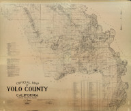Official Map of Yolo County, California. Compiled from Official Records by C.C. Stitt, County Surveyor, 1939.