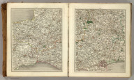 (Cary's New Map of England And Wales, With Part Of Scotland). Sheets 13-14.