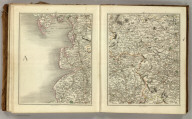 (Cary's New Map of England And Wales, With Part Of Scotland). Sheets 49-50.