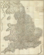 (Composite of) (Cary's New Map of England And Wales, With Part Of Scotland).