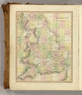 (Index Map to) Cary's New Map of England And Wales, With Part Of Scotland. On Which Are Carefully Laid Down All the Direct and Principal Cross Roads, the Course of the Rivers And Navigable Canals ... Delineated from Actual Surveys: and materially assisted From Authentic Documents Liberally supplied by the Right Honourable the Post Masters General. London: Published Jun 11th 1794 by J. Cary, Engraver & Map-seller, No. 181 Strand.