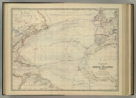 Basin of the North Atlantic Ocean. By Keith Johnston, F.R.S.E. Keith Johnston's General Atlas. Engraved, Printed, and Published by W. & A.K. Johnston, Edinburgh & London.