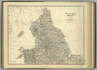 England and Wales (northern sheet). By Keith Johnston, F.R.S.E. Keith Johnston's General Atlas. Engraved, Printed, and Published by W. & A.K. Johnston, Edinburgh & London.