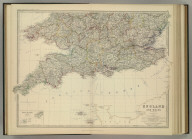 England and Wales (southern sheet). (with) Scilly Islands and Lands End. By Keith Johnston, F.R.S.E. Keith Johnston's General Atlas. Engraved, Printed, and Published by W. & A.K. Johnston, Edinburgh & London.