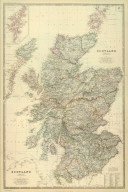 (Composite of) Scotland. By Keith Johnston, F.R.S.E. Keith Johnston's General Atlas. Engraved, Printed, and Published by W. & A.K. Johnston, Edinburgh & London.