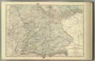 Empire of Germany (southern portion). By Keith Johnston, F.R.S.E. Keith Johnston's General Atlas. Engraved, Printed, and Published by W. & A.K. Johnston, Edinburgh & London.