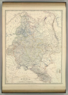 European Russia. By Keith Johnston, F.R.S.E. Keith Johnston's General Atlas. Engraved, Printed, and Published by W. & A.K. Johnston, Edinburgh & London.
