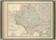South-West Russia. Sowing the Extent of the Kingdom of Poland previous to its partition in 1772. By Keith Johnston, F.R.S.E. Keith Johnston's General Atlas. Engraved, Printed, and Published by W. & A.K. Johnston, Edinburgh & London.