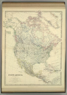 North America. By Keith Johnston, F.R.S.E. Keith Johnston's General Atlas. Engraved, Printed, and Published by W. & A.K. Johnston, Edinburgh & London.