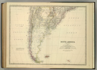 South America (southern sheet). By Keith Johnston, F.R.S.E. Keith Johnston's General Atlas. Engraved, Printed, and Published by W. & A.K. Johnston, Edinburgh & London.