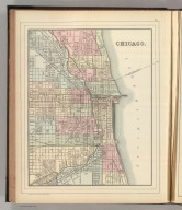Chicago. Copyright by S. Augustus Mitchell 1885.