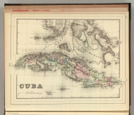 Cuba. Copyright by S. Augustus Mitchell 1884.