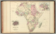 Africa. (with) Lower Egypt or the Delta of the Nile. (with) Island of St. Helena.