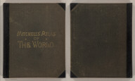(Covers to) Mitchell's New General Atlas, Containing Maps Of The Various Countries Of The World, Plans Of Cities, Etc., Embraced In Ninety-Three Quarto Maps, Forming A Series Of One Hundred and Forty-seven Maps and Plans, Together With Valuable Statistical Tables. Also, A List Of Post-Offices Of The United States And Territories, And Also Census Of 1880 For States, Territories And Counties, Also Of Cities Of Over 10,000 Inhabitants. Philadelphia: Published By Wm. M. Bradley & Bro., No. 1026 Arch Street. 1886. Entered ... 188_, by S. Augustus Mitchell ... Washington.