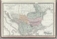 Rand, McNally & Co.'s Turkey in Europe. (with) Crete or Candia.