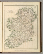 Sharpe's Corresponding Maps. Ireland. London - Published by Chapman and Hall, 186 Strand, 1847. Enlarged Series.
