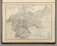 Sharpe's Corresponding Maps. Prussia - Holland and the German States. London - Published by Chapman and Hall, 186 Strand, 1847. Divisional Series.