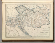 Sharpe's Corresponding Maps. Austrian Empire. London - Published by Chapman and Hall, 186 Strand, 1847. Divisional Series.