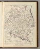 Sharpe's Corresponding Maps. Russia in Europe. London - Published by Chapman and Hall, 186 Strand, 1847. Intermediate Series.