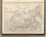 Sharpe's Corresponding Maps. Northern Asia - Asiatic Russia. London - Published by Chapman and Hall, 186 Strand, 1847. Continental Series.