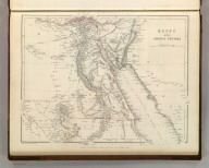 Sharpe's Corresponding Maps. Egypt and Arabian Petraea. London - Published by Chapman and Hall, 186 Strand, 1848. Divisional Series.