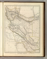 Sharpe's Corresponding Maps. Western Persia. London - Published by Chapman and Hall, 186 Strand, 1848. Divisional Series.