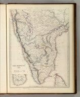 Sharpe's Corresponding Maps. The Carnatic, Etc. London - Published by Chapman and Hall, 186 Strand, 1848. Divisional Series.