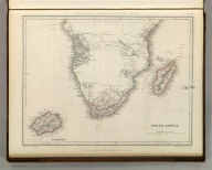 Sharpe's Corresponding Maps. South Africa. London - Published by Chapman and Hall, 186 Strand, 1848. Continental Series.