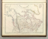 Sharpe's Corresponding Maps. British North America. London - Published by Chapman and Hall, 186 Strand, 1848. Continental Series.