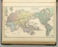 The World on Mercator's Projection. Engraved by S. Hall, Bury Strt. Bloomsbury. Edinburgh. Published by A. & C. Black. Engd. by G. Aikman, Edinr.
