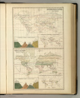 Zoological Chart of the World Shewing (sic) the Distribution of some of the Principal Members of the Animal Kingdom. Chart of the World Shewing (sic) the Distribution of the Principal Plants. Edinburgh. Published by A. & C. Black. Constructed & Engraved by J. Bartholomew, Edinr.