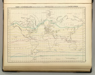 Chart of Isothermal Lines, Shewing (sic) the Mean Annual Temperature of the Different Parts of the Earth's Surface. Edinburgh. Published by A. & C. Black. Engd. by Geo. Aikman.