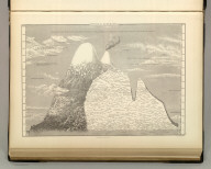 Physical Geography. Humboldt's Distribution of Plants in Equinoctial America, According to Elevation above the Level of the Sea. Edinburgh. Published by A. & C. Black. Geo. Aikman, Sculpt.