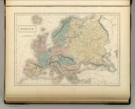 Europe. Edinburgh. Published by A. & C. Black. Engraved by S. Hall, Bury Strt. Bloombry.