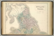 England and Wales. Edinburgh. Published by A. & C. Black. (Engraved by S. Hall, Bury Strt. Bloombry).