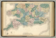 (England and Wales). Edinburgh. Published by A. & C. Black. (Engraved by S. Hall, Bury Strt. Bloombry).