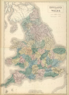 (Composite of) England and Wales. Edinburgh. Published by A. & C. Black. Engraved by S. Hall, Bury Strt. Bloombry.