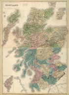 (Composite of) Scotland. Edinburgh. Published by A. & C. Black. Engraved by S. Hall, Bury Strt. Bloombry.