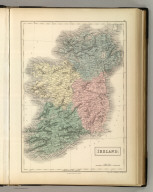 Ireland. Edinburgh. Published by A. & C. Black. Engraved by S. Hall, Bury Strt. Bloombry.