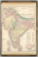 India. Edinburgh, Published by A. &. C. Black. Engraved by S. Hall, Bury Strt. Bloomsbry.