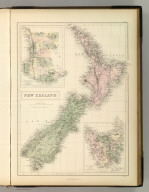 New Zealand. By W. Hughes. Edinburgh, Published by A. &. C. Black. W. Hughes.
