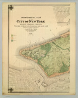 Topographical Atlas Of The City Of New York Including The Annexed Territory. I. (Southernmost portion). Showing original water courses and made land. Prepared Under The Direction Of Egbert L. Viele, Civil and Topographical Engineer. 234 Broadway, N.Y. 1874. Eugene Quackenbush, C.E. Entered ... 1874, by Egbert L. Viele in the Office of the Librarian of Congress. Julius Bien, Photo Lith.