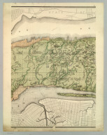 Topographical Atlas Of The City Of New York Including The Annexed Territory. II. (Next to southernmost portion). Showing original water courses and made land. Prepared Under The Direction Of Egbert L. Viele, Civil and Topographical Engineer. 234 Broadway, N.Y. 1874. Eugene Quackenbush, C.E. Entered ... 1874, by Egbert L. Viele in the Office of the Librarian of Congress. Julius Bien, Photo Lith.
